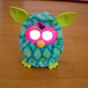 "HASBRO Blue/Green/Yellow 6"" Furby w/ No Box"